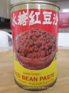 1. Tau Sar Pao_Red bean paste