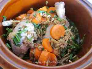 4a. Mushroom ginger chix soup_all in slow cooker