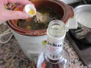 4c. Mushroom ginger chix soup_Jim Beam