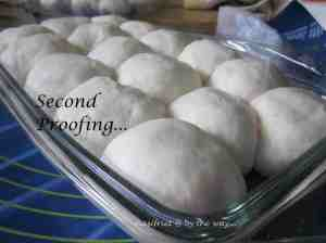 Steamed chicke pao_second proofing