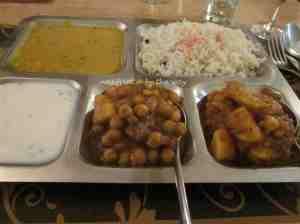 1b. Chix curry 4 the guys_Indian veg thali