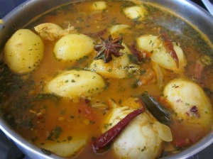 7a Baba's curry_curry chix soup