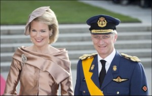 The reigning Queen Mathilde and King Philip(pe)/ Filip of Belgium
