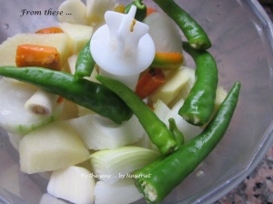 3. Pandan chix curry_blended ingredients1