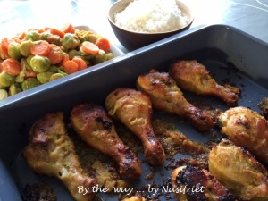 6. Baked spiced chix+rice+veg