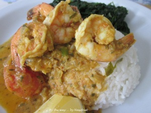 10. Fragrant prawn curry_plate up3