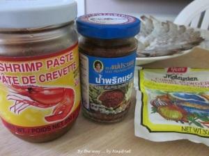 2. Fragrant prawn curry_shrimp paste + curry powder