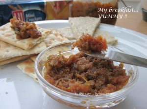 3. Fragrant sambal_crackers n toasts