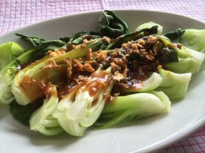 9. Steamed baby bok choy_platter2