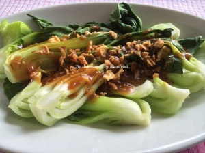 9. Steamed baby bok choy_platter3