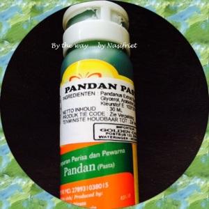 2. RCC#1_Pandan cake_pandanus extract