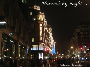 2b. Harrods by night