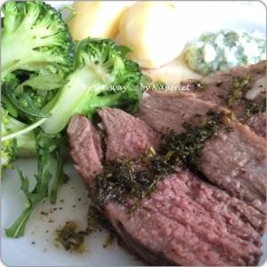 4. Lamb + Mint sauce