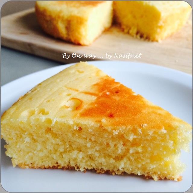 Sponge The Tail For Texture: Rice Cooker Lemon Sponge Cake #RCC