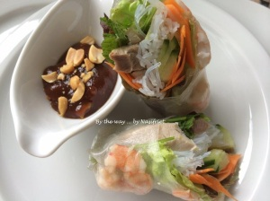 3. Vietnamese Summer Roll_dipping sauce
