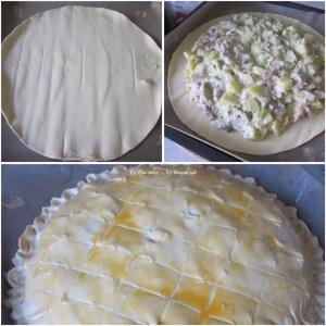 5. Chicken & Leek Pie_puff pastry