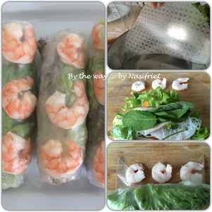 7. Vietnamese Summer Roll_wrapping the rolls