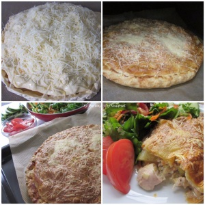 9. Chicken & Leek Pie_with grated cheese topping