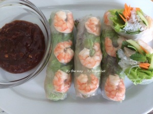 9. Vietnamese Summer Roll_dipping sauce