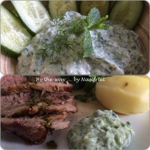 4. Tzatziki_with grilled meat
